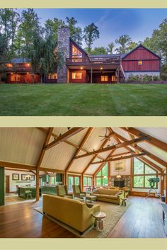 Kerr Creek Barn Home