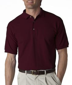Wholesale Blank 2800 Gildan Adult Ultra Cotton Jersey Polo t-shirt | Buy in Bulk The shirts the guys will be wearing with black pants