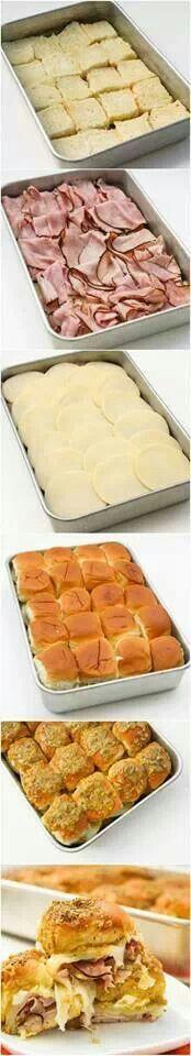 Oven sandwich