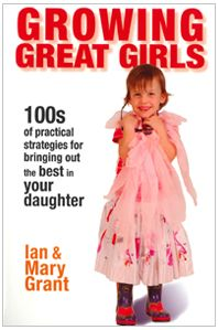 Growing Great Girls is the must have parenting book for those with daughters. $30.90 NZD