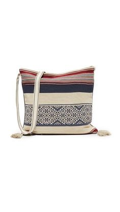 Berta Stripe Cross Body Bag