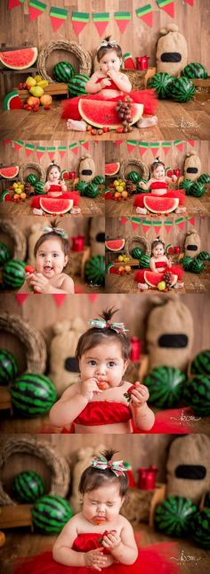 Smash the fruit menina tema melancia katia cunha fotografia especializada em f… - Alles Über Kinder 6 Month Baby Picture Ideas, Baby Girl Pictures, Newborn Pictures, 1st Birthday Photoshoot, 1st Birthday Party For Girls, Newborn Photography Poses, Newborn Baby Photography, Baby Shooting, Watermelon Birthday Parties