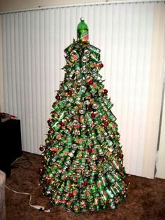 ugly christmas tree unusual christmas trees christmas gifts homemade christmas christmas tree - Redneck Christmas Decorations