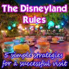 The Disneyland Rules