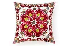 Surya Medallion 20x20 Pillow, Pink on OneKingsLane.com