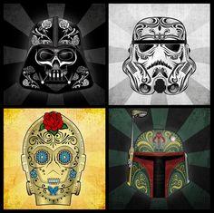 Star Wars Dia de Muertos