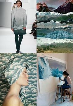 Eclectic Trends: My lifestyle trends AW 2016/17 for Global Color Research - WONDERLAND #moodboard