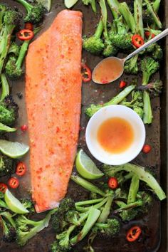 Salmon with Sweet Chili Lime Butter