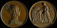 Leopold I. Death of Queen Louise-Marie, 1850, Wiener Leopold.