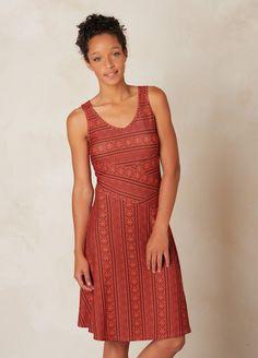 prAna: Amelie Dress, raisinlace