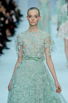 133 photos of Elie Saab at Couture Spring 2012.