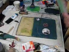 How to Make prints with gelatin plate monotypes « Printmaking