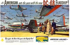 Vintage American Airlines AD