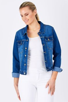 Wakee Jeans Rogue Denim Jacket - Womens Jackets - Birdsnest Fashion Clothing