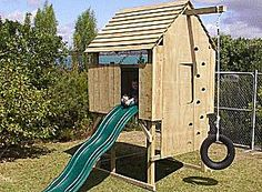 Free Plans to Help You Build a Playhouse for the Kids: BuildEazy's Kid's Play Fort Project