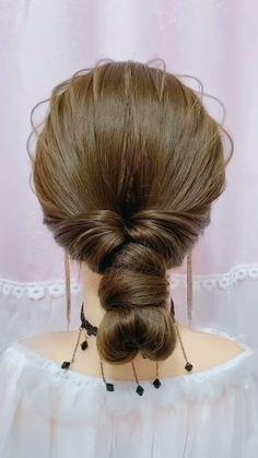 Cute Hairstyles For Medium Hair, Bride Hairstyles, Headband Hairstyles, Summer Hairstyles, Medium Hair Styles, Hairstyle Braid, Beautiful Hairstyles, Quick Hairstyles, Party Hairstyles