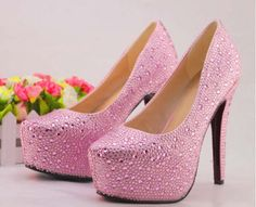 Pink High Heels | eBay