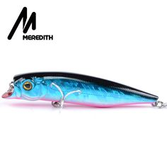 MEREDITH Fishing Lures, Assorted Colors, Minnow Crank 90mm 12g,Magnet System Hot Model Crank Bait Tucunare Fish Free Shipping -- Detailed information can be found by clicking on the VISIT button