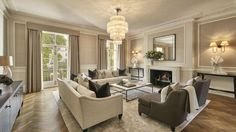 If you're after a secure property look no further than this luxury mansion as it comes with a bombpr... - Savills