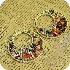 Beaded Earrings - $4.50 cute & casual