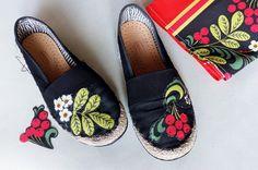 jak odświeżyć espadryle diy shoes boho