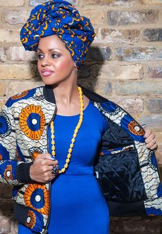 www.cewax.fr aime ce blouson en wax. Mode femme afro tendance, style ethnique, tissus africains: wax, ankara, kente, kitenge, bogolan... African Fashion, ethno tendance, African Prints, African clothing pepimenti_jacket ~                                                                                                                                                      Plus