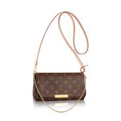 Favorite PM Toile Monogram Femme Sacs à main Sacs porté croisé   LOUIS  VUITTON Louis Vuitton 19bfdf7386d