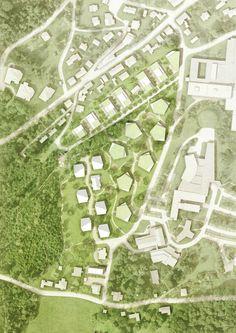 """Ergebnis: Entwicklung des Areals """"Am Tannenhof""""...competitionline"""