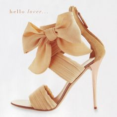 the only problem is, if you buy those shoes, you will never be able to tie a bow that perfect.