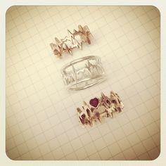 ekg rings! Want one! cardiac nurse?