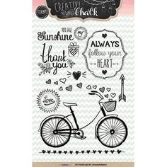 Studiolight Clear Stamp - Bike