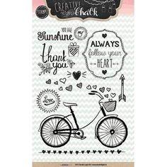 Studiolight Clear Stamp - Bike