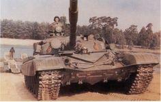 East German T-72M.