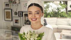 Watch Miranda Kerr's Fairy-Tale Wedding Dress Fitting on video.vogue.com