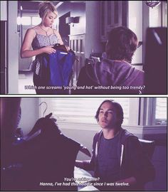 In my opinion, Hanna and Caleb are the funniest couple on the show. They always make me laugh