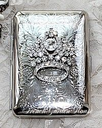 Edwardian Era Sterling Calling Card Case ~ a lovely tradition...
