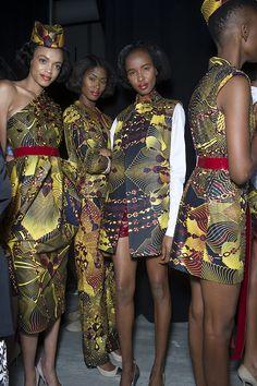david-tlale-spring-2015-new-york-fashion-week ~Latest African Fashion, African Prints, African fashion styles, African clothing, Nigerian style, Ghanaian fashion, African women dresses, African Bags, African shoes, Nigerian fashion, Ankara, Kitenge, Aso okè, Kenté, brocade. ~DK
