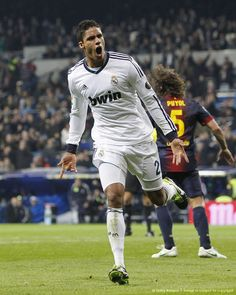 Raphäel Varane makes his Clasico debut and scores his first goal . Copa del Rey semi-final 1st leg - Real Madrid vs Barcelona 1:1, 30.01.2013 (Fabregas 50', Varane 80')