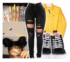 """""""- 050"""" by arionce ❤ liked on Polyvore featuring Tommy Hilfiger and Vans"""