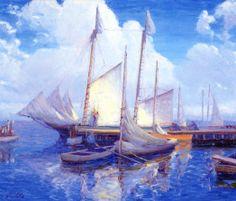 Wharf, Leonardtown, Maryland  August H. O. Rolle