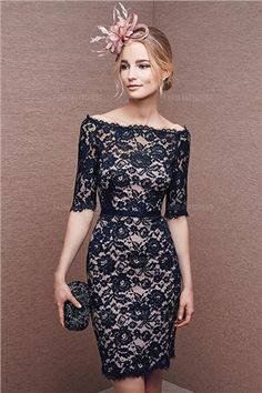Initiative Navy Blue Cocktail Dresses Ball Gown High Long Sleeves Holiday Club Homecoming Cocktail Party Vestido De Festa Curto Coctel 2019 Weddings & Events
