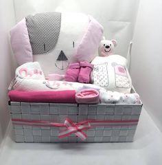 Καλάθι για νεογέννητο κοριτσάκι