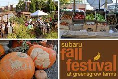 Greensgrow Farms To Host Its Fifth Annual Fall Festival This Saturday, October 6: Food Trucks, Sustainable Demos, Farm Animals, Craft Bazaar, Live Music And More. #SEPTA Routes: Broad Street Line + bus 39, Market-Frankford Line + Bus 39