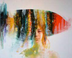 "Saatchi Art Artist Zin Lim; Painting, ""NOMAD 5"" #art"