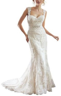 lace-v-back-sweetheart-neckline-wedding-dress-front