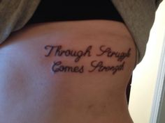 with struggle comes strength tattoos pinterest