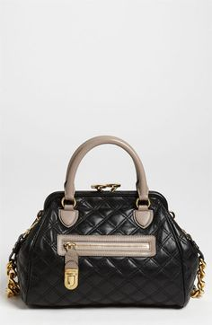 MARC JACOBS 'Quilting Mini Stam' Leather Satchel available at #Nordstrom still one of my all time favorites...