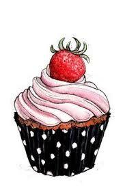 Resultado de imagem para cupcake drawing