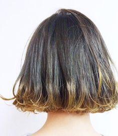 Sachiko Handaさんのヘアカタログ | 外国人風,黒髪,前髪,ハイライト,ボブ | 2016.04.28 03.51 - HAIR