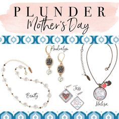 1bcbc50c9a1 Mother's Day These pieces are perfect for mom! #mothersday #gifts  #giftinspo #mothersday2019 #jewelry. Julie LaForte · Plunder Design Vintage  ...